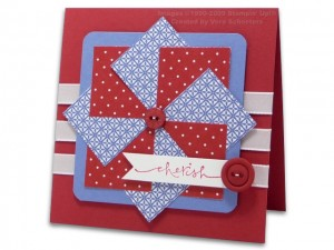 Faux Pinwheel Card